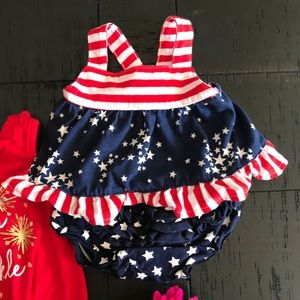 NB Cat /& Jack Red Baby Girls/' Hat and Mitten Set